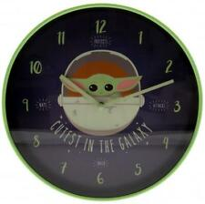 More details for star wars: the mandalorian wall clock cutest