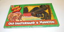 Vintage Lagerfund Big Jim OVP Winnetou & Old Shatterhand