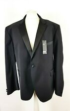 Autograph M&S Mens Black Wool Rich Tuxedo Dinner Blazer Jacket Size 52 S New