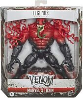 "Marvel Legends Toxin Venom Deluxe 6"" Figure 2020 Spider-Man New NIB In Hand"