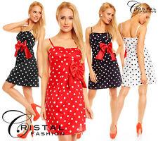 Damenkleider im 50er-Jahre-Stil mit Baumwolle
