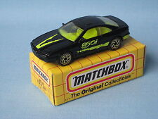 MATCHBOX BMW 850i Black Body Giocattolo Modellino auto sportiva 75mm in Scatola