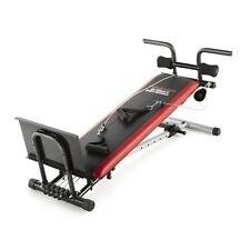 New Weider Ultimate Body Works Bench with Professional Workout Guide