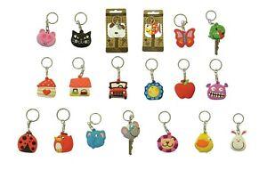 Cute Keycap/ Keyring (Pussy Cat, Dog, Piglet, Flower, Beetle Car or House etc )