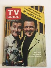 TV Guide Dec. 1, 1962 Marty Ingles and John Astin on Cover