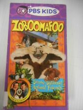 PBS Kids Kratt Brothers Zoboomafoo Sense-Sational Animal Friends VHS 56 Minutes