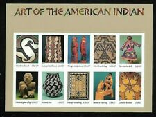 US SCOTT 3873 ART OF THE AMERICAN INDIAN PANE OF 10 STAMPS 37 CENT FACE MNH