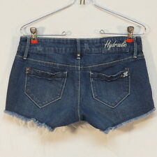 Hydraulic Bailey Denim Short Shorts w Bling under front pockets Size 5/6