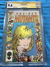 New Mutants #45 - Marvel - CGC SS 9.6 NM+  - Signed by Kyle Baker, Ann Nocenti