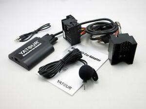 YT-BTA Bluetooth Car Adapter Aux for Ford Quadlock 12Pin 5000C 6000CD 6006CDC