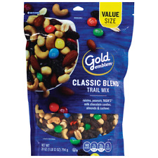 Gold Emblem Classic Blend Trail Mix Resealable Bag New Sealed Value Size