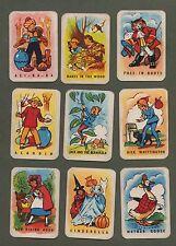 Vintage Cards game Pantomime Snap. Circa 1930-40's Ali Baba Cinderella, , etc