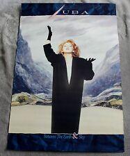 LUBA 1986 Between Earth & Sky Ukrainian JUNO Capitol EMI Canada Promo Poster VG