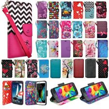 For Samsung Galaxy Note 5 Cell Phone Case Hybrid Leather Wallet Pouch Flip Cover