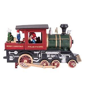 "Roman, Santa's Polar Pacific 10""  Animated Musical Merry Christmas Train Engine"