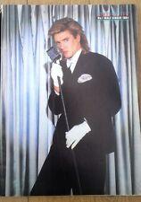 DURAN DURAN Simon 'best singer 1984' magazine PHOTO/Poster/clipping 11x8 inches