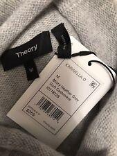 2302f75b7a86 Theory Karinella O Soft Cashmere Heather Grey Sweater Sz M