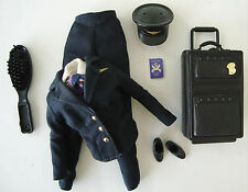 Barbie Clothes/Fashions Pilot/Flight Attendant Uniform Suitcase NEW!