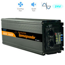 Power inverter 5000W Convertisseur 24V 220V Onde sinusoïdale pure onduleur