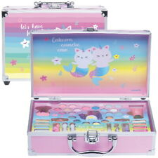 Kinder CATICORN Beauty Kosmetik Make-up Alu Schminkkoffer 41 teilig (81)