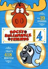 ROCKY AND BULLWINKLE AND FRIENDS: THE COMPLETE SEASON 4 NEW DVD