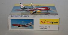 SCHABAK 403551618 BOEING 737-8k5wl tuifly.com d-atuc en 1:600 ECHELLE