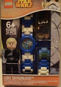 Lego Star wars buildable watch 8020356, Luke Skywalker minifigure