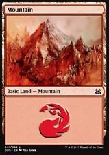4x Montagna 61 - Mountain 61 MTG MAGIC DDS English