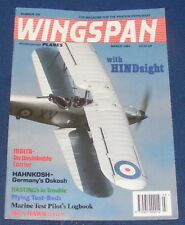 WINGSPAN MAGAZINE MARCH 1994 - WITH HINDSIGHT