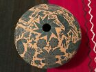 ACOMA Pueblo Etched / Carved Pottery OLLA by N. Valio 6 x 7.75 - ^Exceptional^