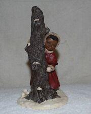 "Miss Martha Originals Samantha #33 All God's Children 1991 7.5"" Making Snowballs"