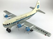 Pan American Airline Airplane West Germany Gama Tin Friction Toy Vintage S306