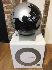 Capital Q Black & Silver Globe Designed in Denmark by Kristoffer Zeuthen Jensen