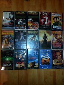 15 Filme       VHS   Sammlung