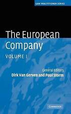 The European Company (Law Practitioner Series) (Volume 1)-ExLibrary