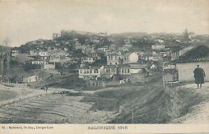 THESSALONIKI - Salonique 1916 Salonica 1916 - Greece
