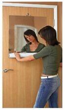 1m Mirror Tile Wall Sticker Square Self Adhesive Room Bathroom Decor Stick Art