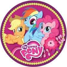 My little pony Deco Gateau Disque Azyme Comestible Anniversaire 20 cm