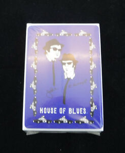 "Collectible House of Blues ""Blues Brothers"" Playing Cards Sealed!"