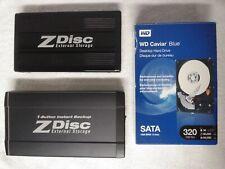 Hard Disk DATA STORAGE - EIDE 120 & 60GB External - SATA 320GB Internal