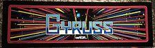 "Gyruss Arcade Marquee 26""x8"""