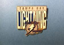 Tampa Bay Lightning NHL Hockey Collectors Collectible Lapel Hat Jacket Pin O
