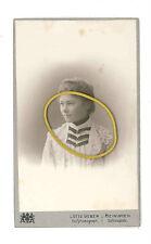 Meiningen, Herzogtum Sachsen-Meiningen, Elsa Sieber als junge Frau, CDV 1903