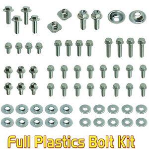 Full Plastics Bolt Kit Suzuki RM 60 65 80 85 100 125 250 plastics fender seat