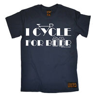 Cycling I Cycle For Beer funny top Birthdayátee T SHIRT T-SHIRT