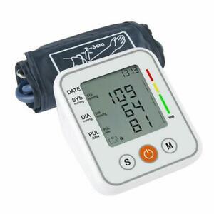 2021 Digital Automatic Blood Pressure Monitor Upper Arm BP Machine Heart Rate