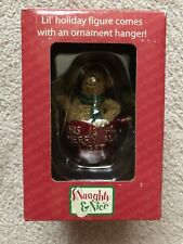 Boyds Bears Christmas Ornament Naughty & Nice Joy