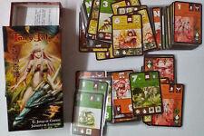 Fairy Tale juego de cartas anime fantasía