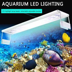 UK Full Spectrum Aquarium Fish Tank Plant LED Light Strip Light Bar Lamp Lights