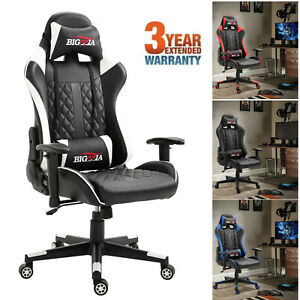 Executive Computer Office Chair Gaming Racing Sports Home Desk Chair Recliner